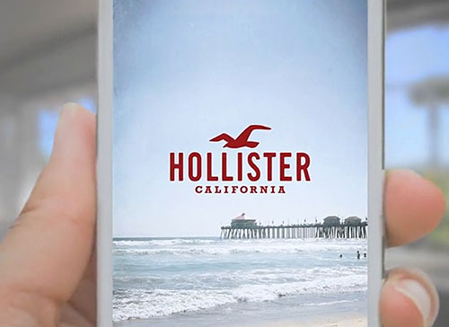 Hollister: Get Styled with the Hollister App