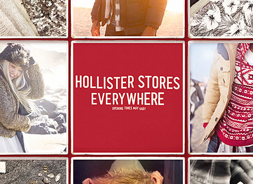 Hollister: Get ready for the #HCoHouseParty, Thanksgiving @ 6PM!