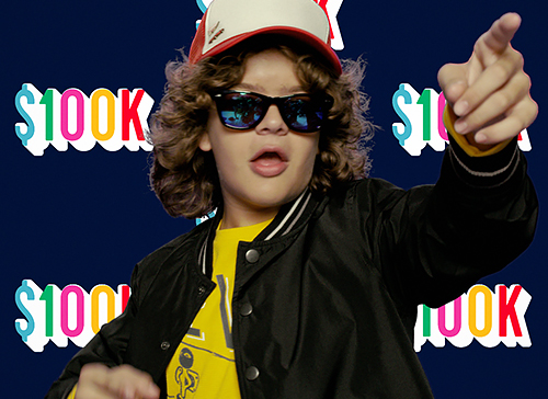 Old Navy: Get Instant Happy with Old Navy and Gaten Matarazzo