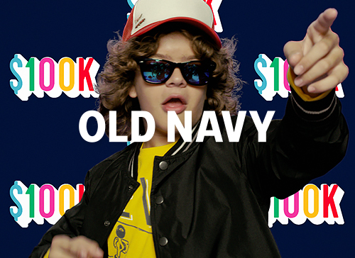 Old Navy: Get Instant Happy with Old Navy and Gaten Matarazzo (Retail, Celebrity)