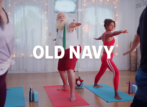 Old Navy: Santa Sighting